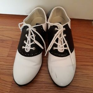 Shoes | 195s Style Oxford Saddle Shoes